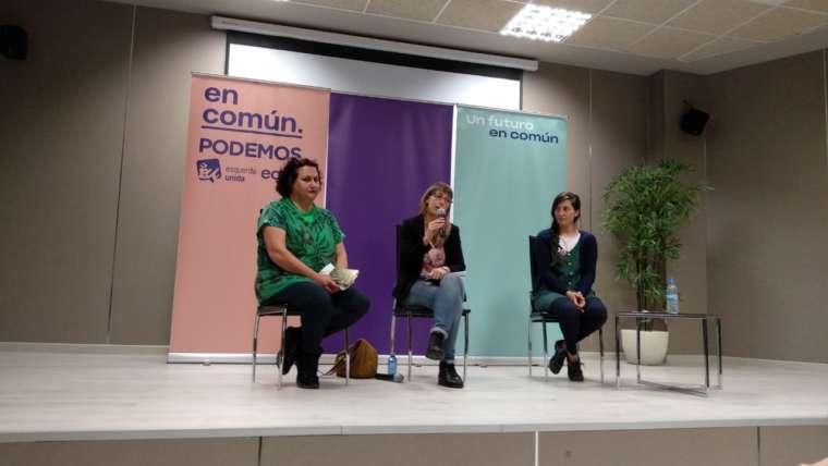 En Común-Unidas Podemos resalta en Monforte a importancia de levar ao Goberno as propostas para Lugo